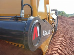 Ashland 215 TS2 scraper for sale or lease from Power & Earth